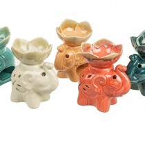 Ceramic Elephant Oil Burner