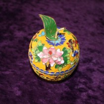 Cloisonne Apple