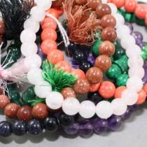 Crystal mala bracelets