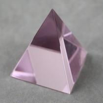 Crystal Pyramid Pink
