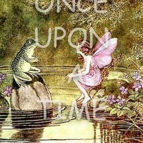 Children's Storybook Series - Frog with Fairy