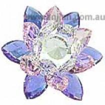 Clear Lotus Crystal