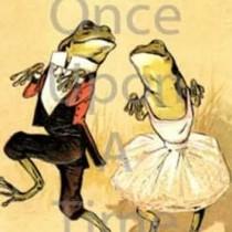 Animalia Series - Dancing Frogs