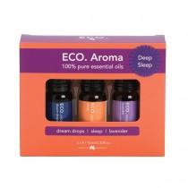 ECO Aroma Deep Sleep Trio essential oils