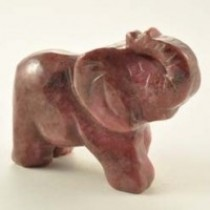 Rhodonite Elephant
