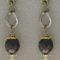 Black Antique Italian earrings