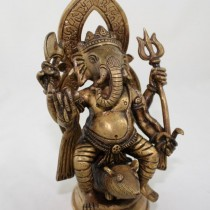 Ganesh on Rat