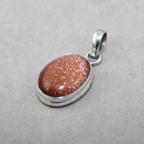 Goldstone Pendant