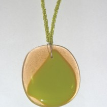 Hand-made Glass Pendant