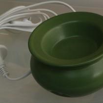 Electric Oil Vaporiser - Satin Olive