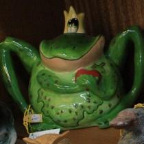 Blue Sky Teapot