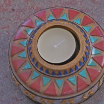 Indian tealight holder