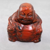 Buddha, Red Jasper