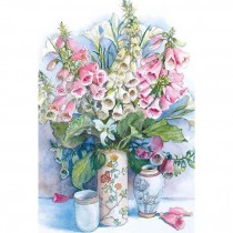 Foxgloves and Lilies
