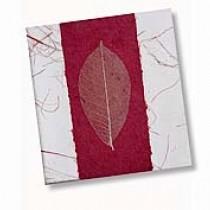 Maroon Bodhi Leaf