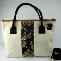 Kimono Decorated Bag
