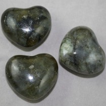Labradorite Heart