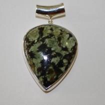Leopard Opal Pendant