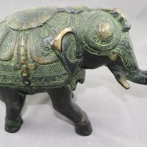 Medium Bronze Elephant