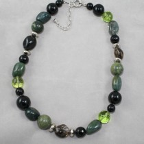 Green Jasper and Zirconia