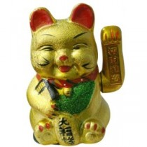 Gold Waving Cat