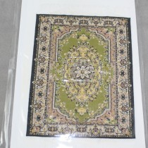 Miniature Carpet Card chartreuse