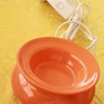 Electric Oil Vaporiser - Orange Gloss