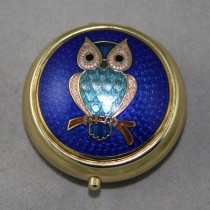 Owl Pill Box