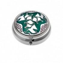 Celtic Pill Box - Horses