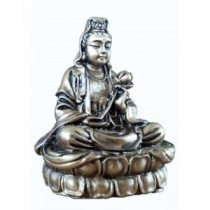 Quan Yin - brass finish