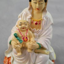 Quan Yin with Child
