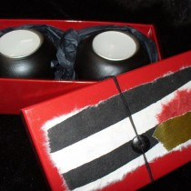 Boxed Maplewood Candle Holders