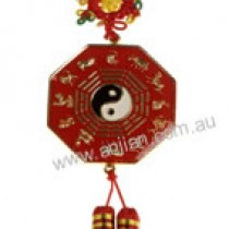 Red and Gold double sided Bagwa