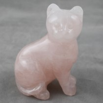 Rose Quartz Cat