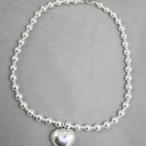 Silver Heart Neckace