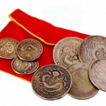 8 Silver Dragon coins