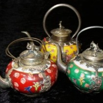 Ancient Chinese teapots small