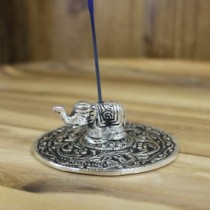 Incense holder with elephant