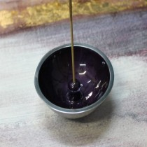 Incense dish - purple