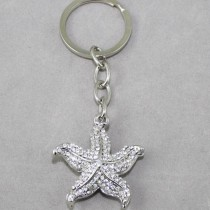 Starfish Key Ring