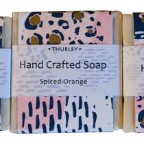 Thurlby Herb soap - orange spice