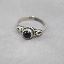 Tiny Garnet ring