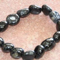 Black Tourmaline Bracelet tumbled