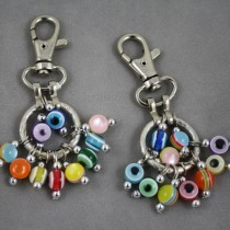 Bead Key Ring
