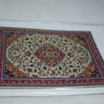 Miniature Carpet Card beige red
