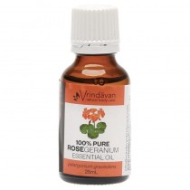 Vrindavan Rose Geranium Essential Oil