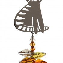 Wild Things Crystal Fantasy Marmalade Sitting Cat