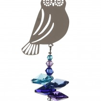 Wild Things Crystal Fantasy Blue Owl